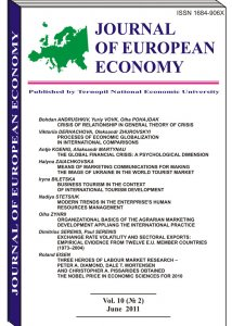 Journal of European Economy Volume 10, Issue 2, June 2011, Pages 127-227