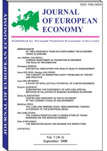 Journal of European Economy Volume 7, Issue 3, September 2008, Pages 253-361