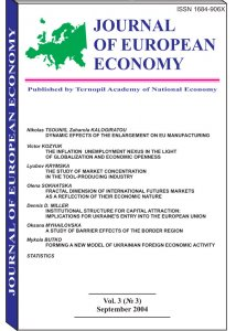 Journal of European Economy Volume 3, Issue 3, September 2004, Pages 237-370