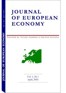 Journal of European Economy Volume 1, Issue 1, April 2002, Pages 1-142