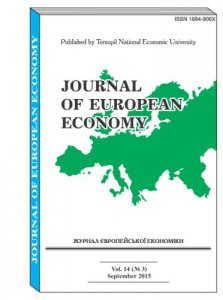 Journal of European Economy Vol. 14, Number 3, September 2015, pp 233 -340