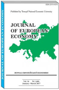 Journal of European Economy Vol. 16, Number 1, March 2017, pp 3-134