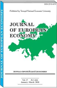 Journal of European Economy Vol. 17, Number 1, March 2018, pp 3