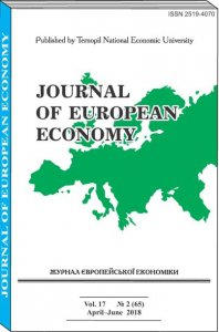 Journal of European Economy Vol. 17, Number 2, June 2018, pp