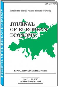 Journal of European Economy Vol. 17, Number 4, December 2018, pp